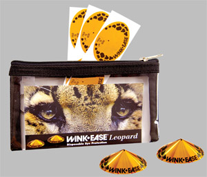 Wink-Ease Leopard eye protection
