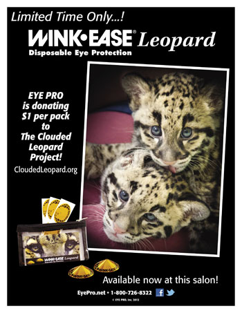 WINK-EASE Leopard Sales Help Save Clouded Leopards!