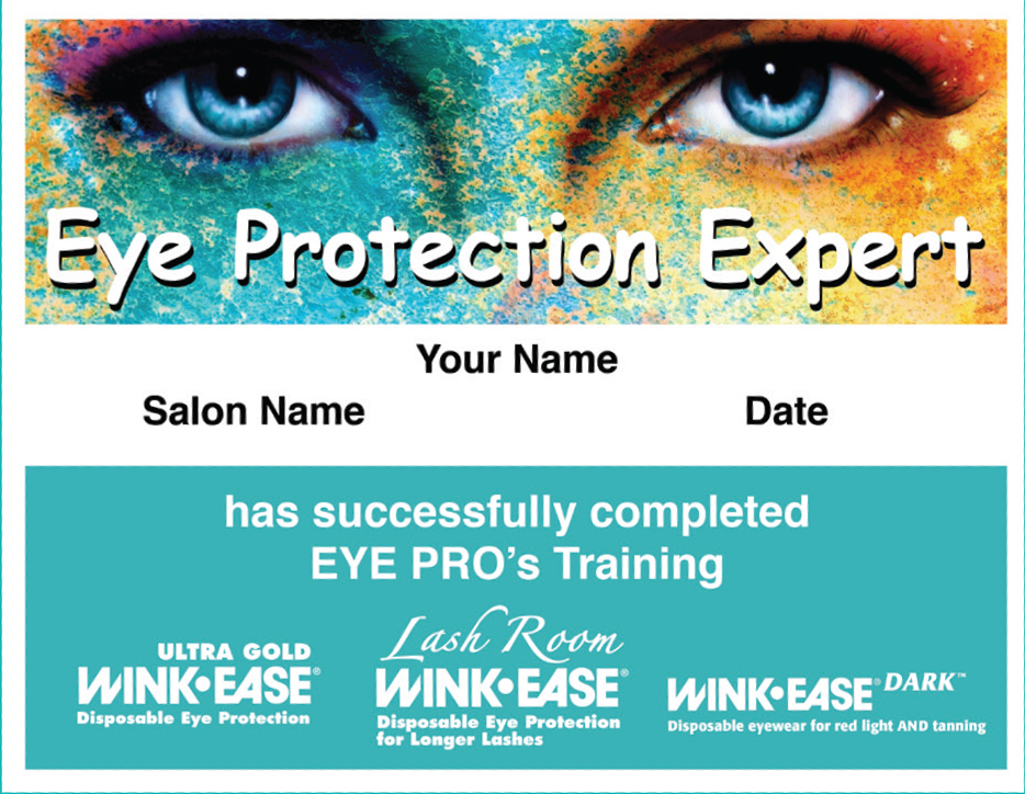 Receive Personalized Certificate With Free Online Training Eye